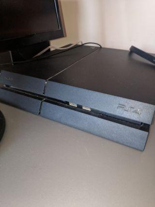 PS4 500 GB Y 9 JUEGOS (acepto cambio Switch)