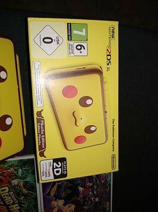 Nintendo 2DS casi nueva