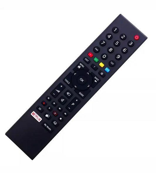 MANDO TV GRUNDIG-REEMPLAZO-CON TECLA NETFLIX