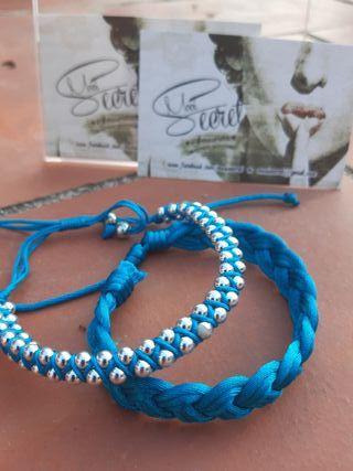 Pulseras Veraneo Azul 2 X 5€