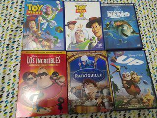 Lote DVD películas Disney/Pixar. Se venden sueltas