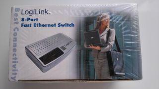 Switch de 8 puertos LOGILINK Fast Ethernet