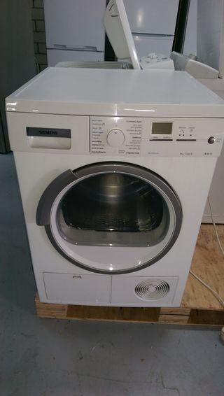 Secadora Condensación Siemens 8kgs