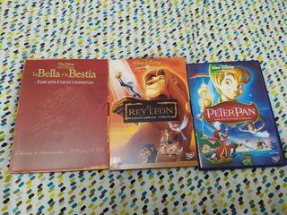 Lote DVD películas Disney. Se venden sueltas