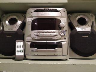 Equipo de música, Panasonic