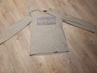 camiseta manga larga de niña