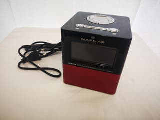 Reloj-radio despertador NAFNAF vintage