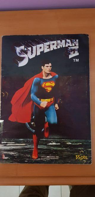 Colección Cromos Film Superman II