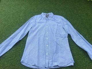 Camisa azul H&M L