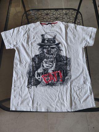 Camiseta hombre inside manga corta talla xl