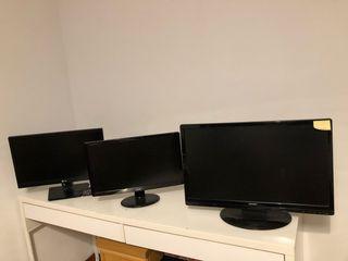 Tengo tres pantallas de ordenador andan re bien si