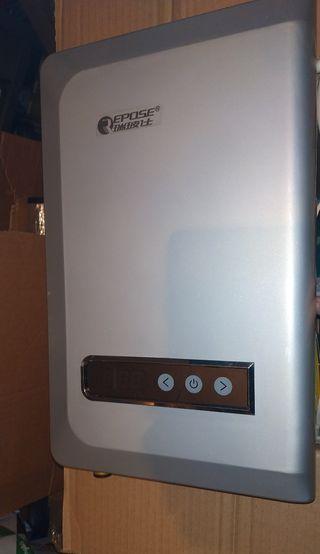 Calentador agua electrico caldera instantánea digi