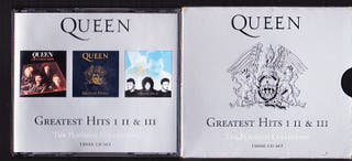 QUEEN GREATEST HITS THE PLATINUM COLLECTION CD