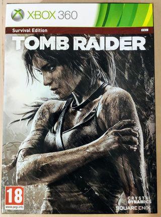 Tomb raider: survivor edition Xbox 360