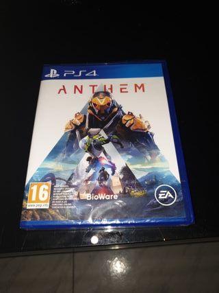juego PS4 Anthem