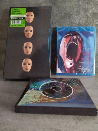 PINK FLOYD CD+DVD+BLU-RAY+LIBRO