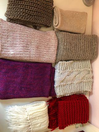 Lote de bufandas