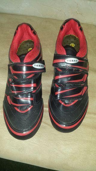 Se vende zapatillas ciclismo mtb