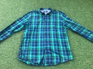 Camisa cuadros Pull&Bear XL
