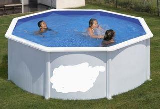 piscina acero desmontable
