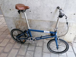 bicicleta plegable ahooga