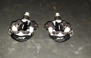 nuevos pedales xt