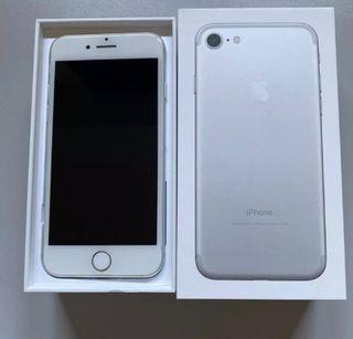 iPhone 7 plata 32 gb