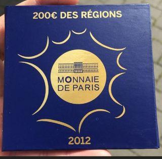 moneda de oro 200 euros