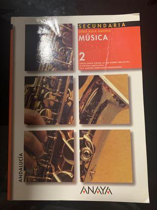 Libro de texto Secundaria (música)