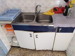 muebles de cocina / fregadero
