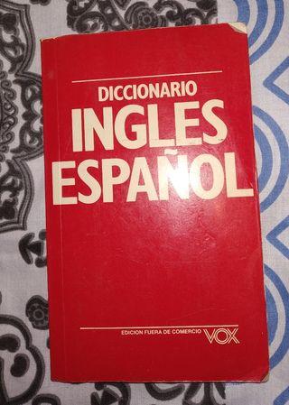 DICCIONARIO INGLÉS ESPAÑOL.