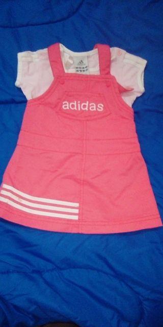 vestido Adidas 9-12 meses