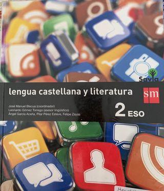 Libro de texto lengua 2º Eso