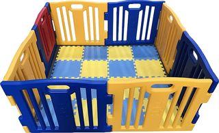 Parque infantil de vallas.