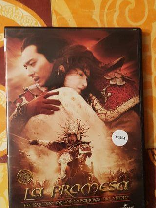 Peliculas dvd la promesa