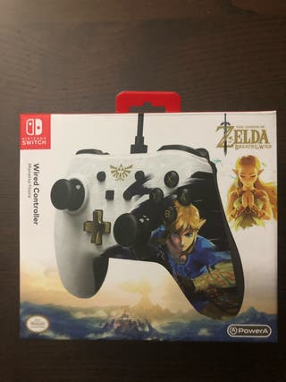 Mando Switch Zelda Power A
