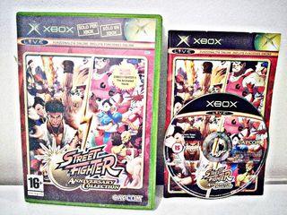 Street Fighter Anniversary Para Xbox Clásica