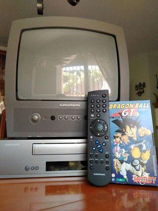 TV + VHS GRUNDIG