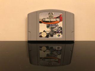 F1 world gran prod Nintendo 64