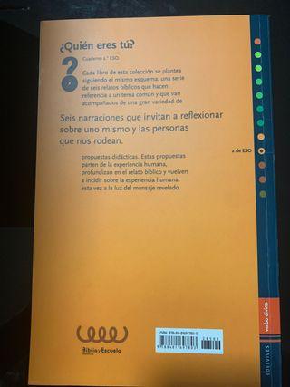 Libro de texto Secundaria Religión