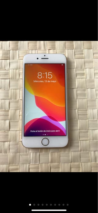 iPhone 6s blanco oro
