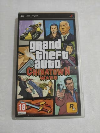 Grand Theft Auto Chinatown Wars PSP PAL ESP