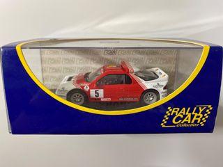 Maqueta estática coche rally altaya