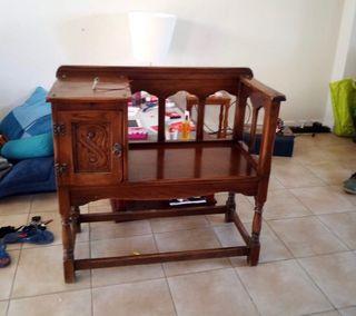 mueble inglés antiguo