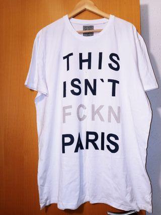 Camiseta de hombre talla grande