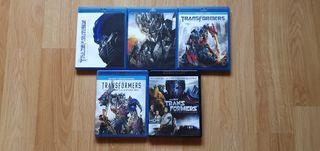 Saga Transformers en Blu Ray