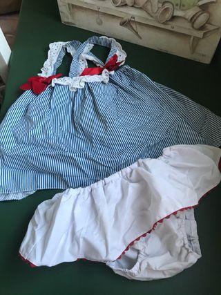 Conjunto blusón y culetin