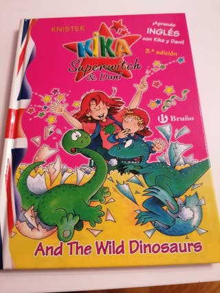 Kika and the wild dinosaur. Aprende inglés con Kik