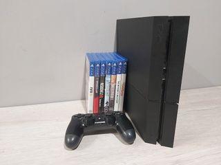 PS4 1TB + 7 JUEGOS