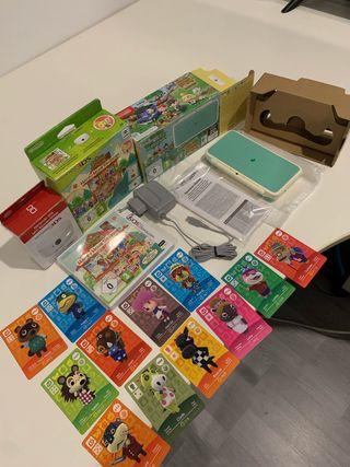 Nintendo 2ds Xl Edición Animal Crossing (Nueva)